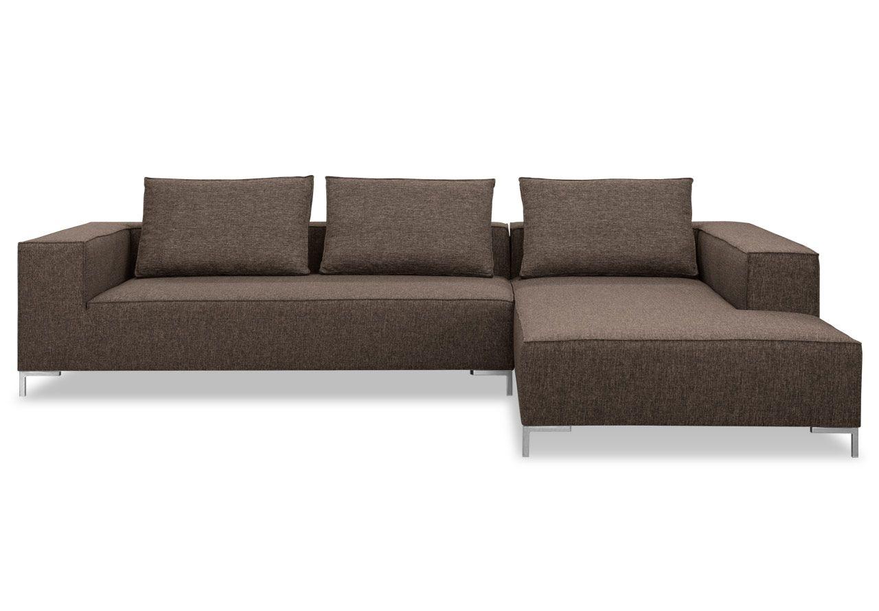 Grau Sofa L Online Stoff Braun SofasLeon Möbel Avandeo Shop m8nyvNw0O