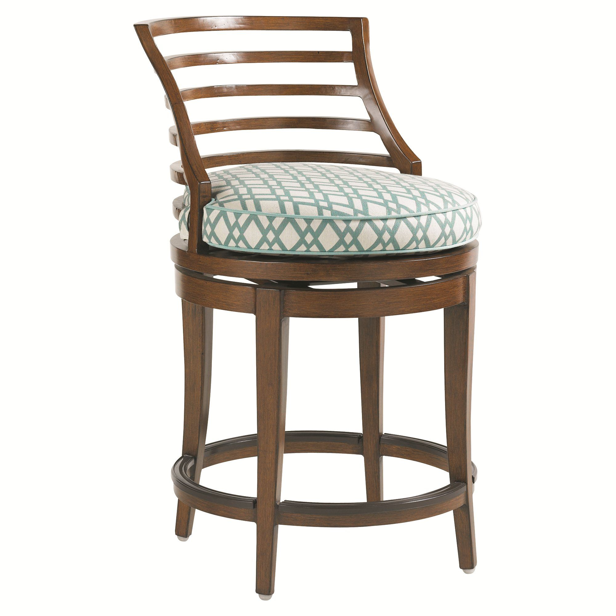Lexington Canberra Surf And Sand Swivel Counter Stool 3140 17sw