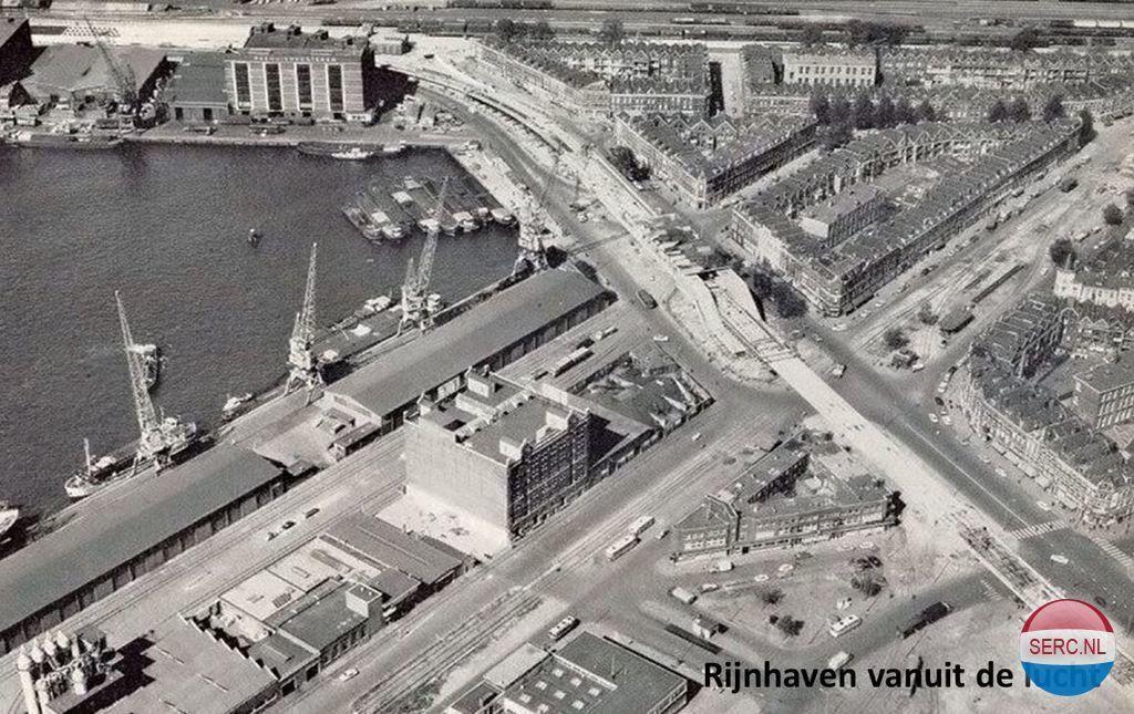 Rijnhaven Rotterdam (jaartal: 1960 tot 1970) - Foto's SERC