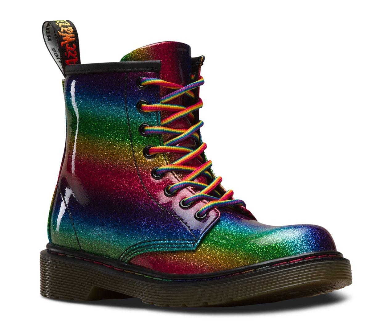 Dr Martens Junior 1460 Kid's Boots Black | Country Attire US