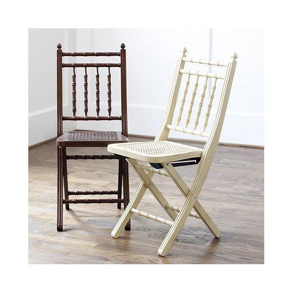 Ballard Designs Folding Chairs