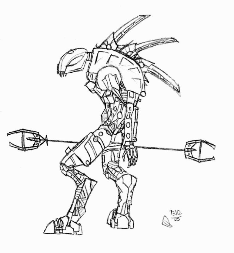 bionicle coloring pages # 2