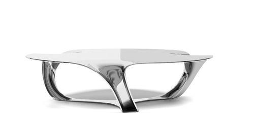 Table Basse Contemporaine En Aluminium Flow Side Timothy Schreiber Videos Contemporary Coffee Table Coffee Table Design Coffee Table