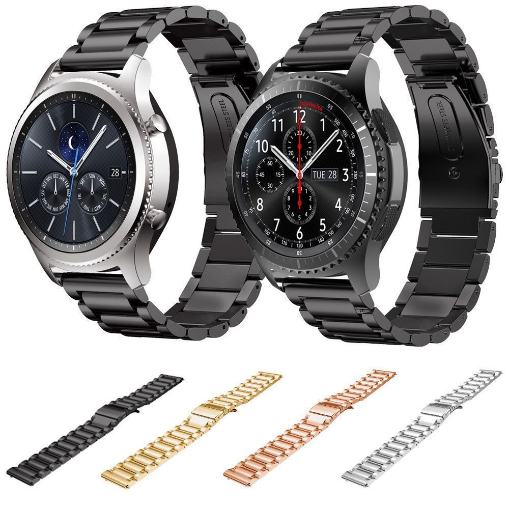 Details About Stainless Steel Strap Watch Band For Samsung Galaxy Gear S3 Frontier S3 Classic Metal Watch Bands Watch Bands Stainless Steel Watch