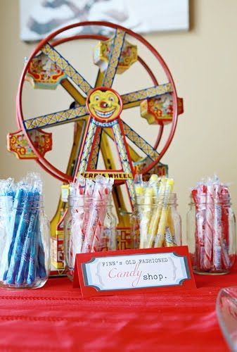 """Stylish Childrens Parties: Vintage """"Fun With Dick and Jane""""-Inspired Birthday Party"""