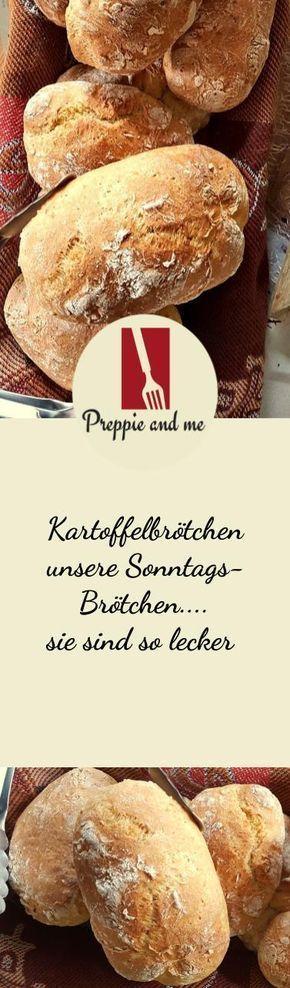 Kartoffelbrötchen, Dinkelmehl, Frühstück, Brot backen, Preppie-and-me, Krupsprepandcook,Krups Rezepte, Krupsprepandcookrezepte - Prep & cook -