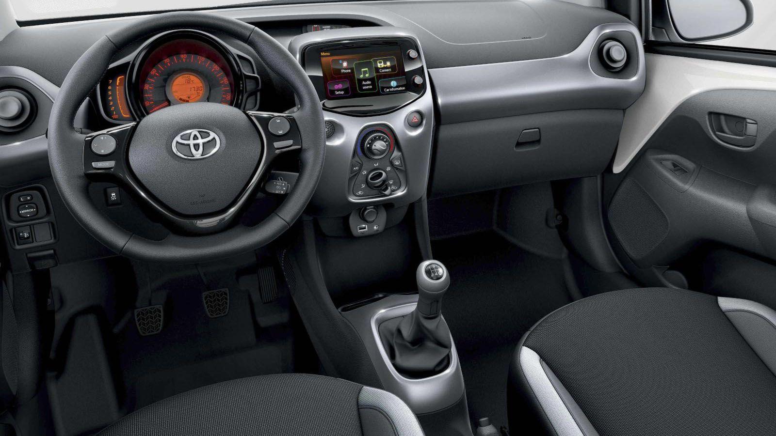 Images De Fond D U0026 39  U00e9cran De Voiture  Toyota Aygo 2007 Interior