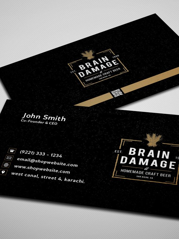 50 Best Free PSD Files for Designers - 16 | Business Cards ...