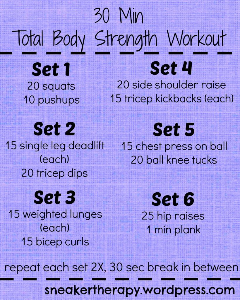 Unfiltered Thursday + Total Body Strength Workout!
