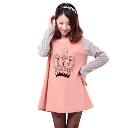 2013 Autumn and Winter Fashion Maternity Tops Pregnant Women Clothing Print Long-Sleeve Hoodies Gravida Sweatshirt Free Shipping
