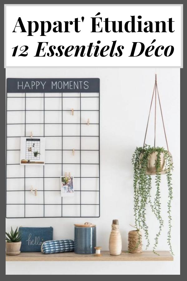 12 Essentiels Déco Pour Un Appartement Étudiant