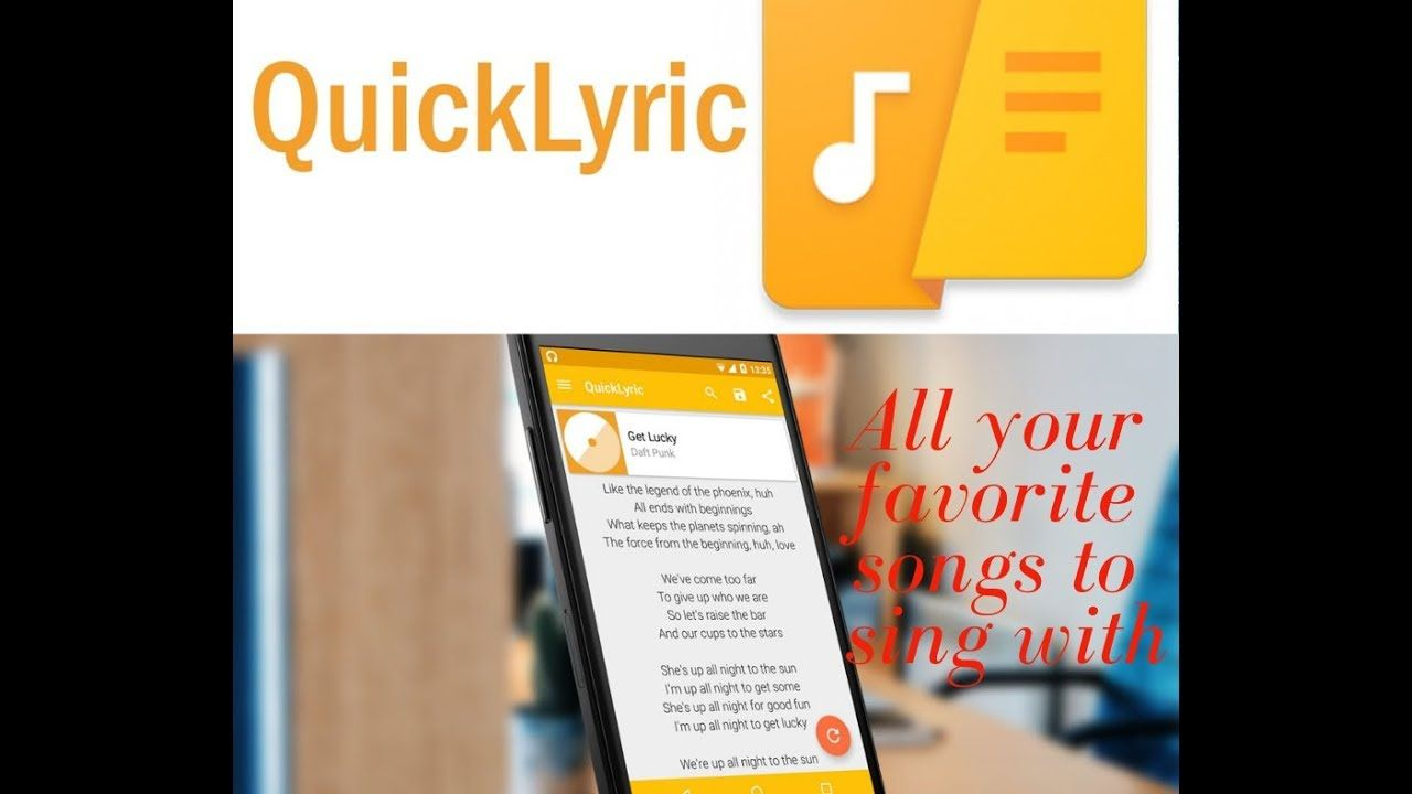 QuickLyric (Song Lyrics) App Apk For Android Songs
