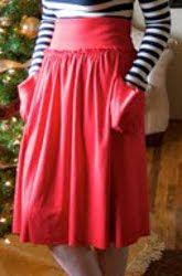 The Jersey Skirt - free pattern