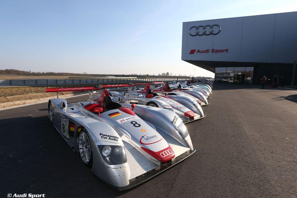 Audi réunit pour la première fois ses 13 modèles ...