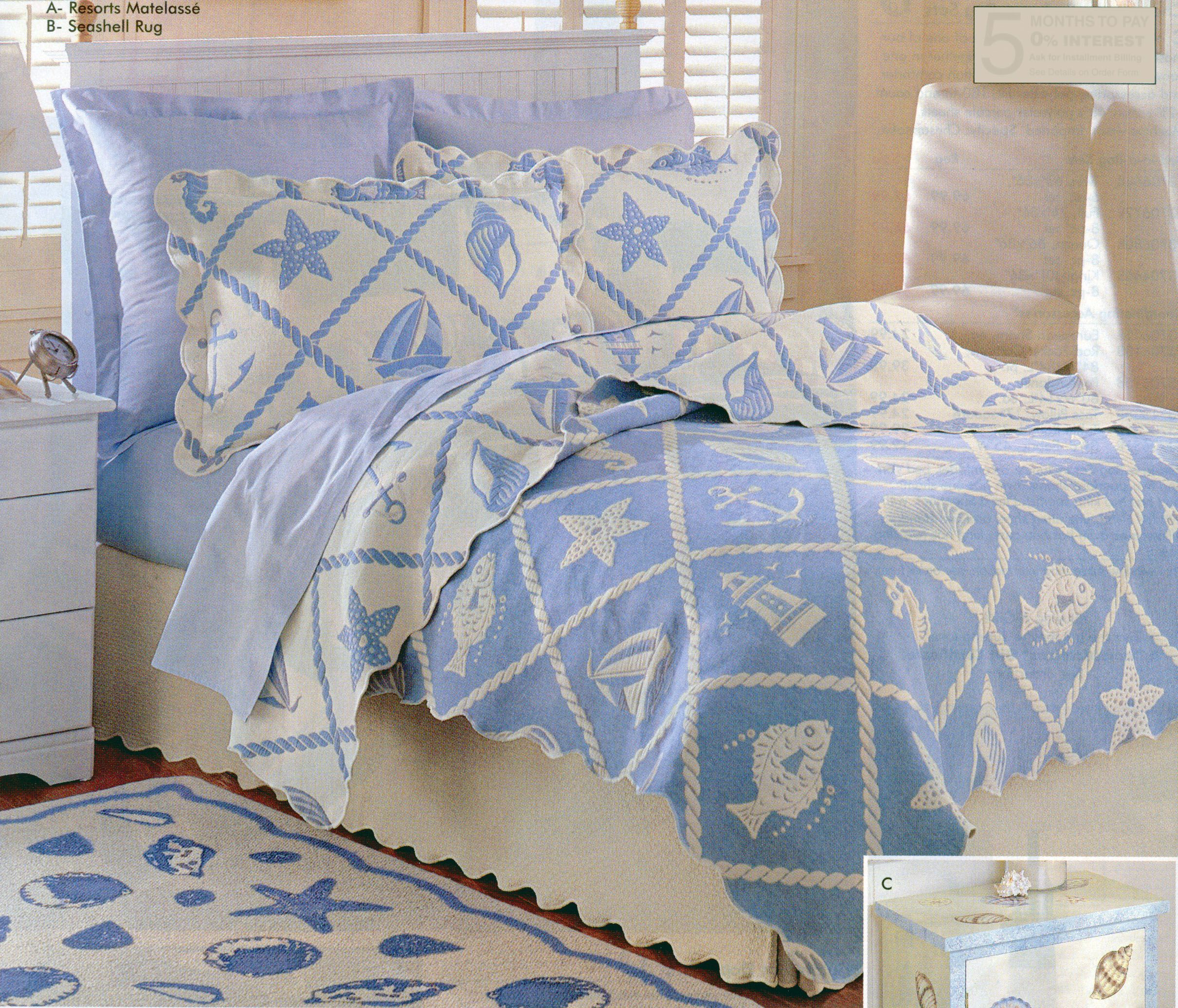 Domestications bed in a bag - Resorts Matelasse Coverlet From Domestications Catalog