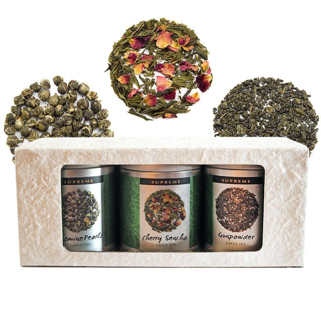 Photo of Green Tea Triple Selection Gift Box