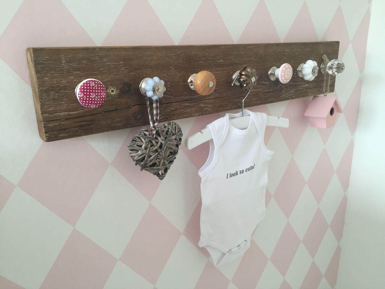 Vinyl Steigerhout Look : Kapstok steigerhout meisjes kamer play room pinterest playroom