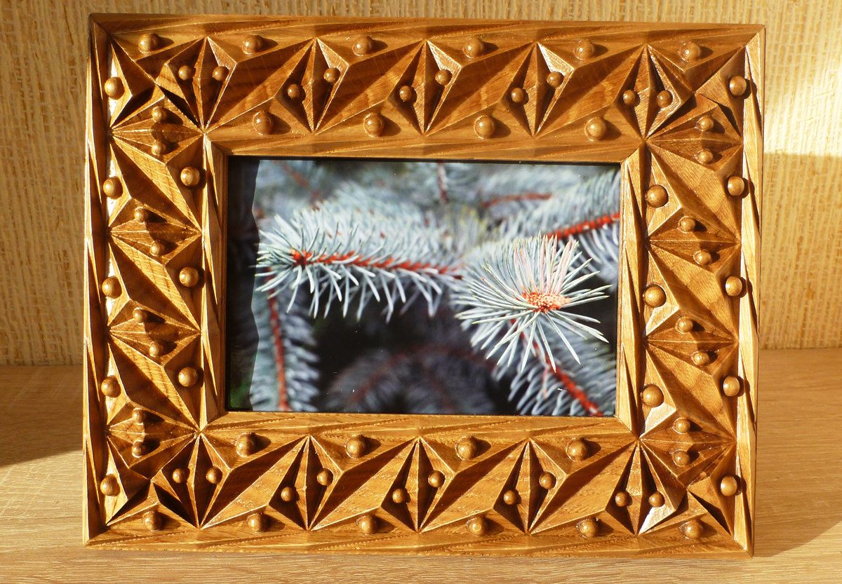 Wood Carving Oak Picture Frame 4x6 Frame Photo Frame Wood Picture Frame Photoframe Natural Color Wedding Gift By Hearthstoneboxreplic On Etsy Marcos