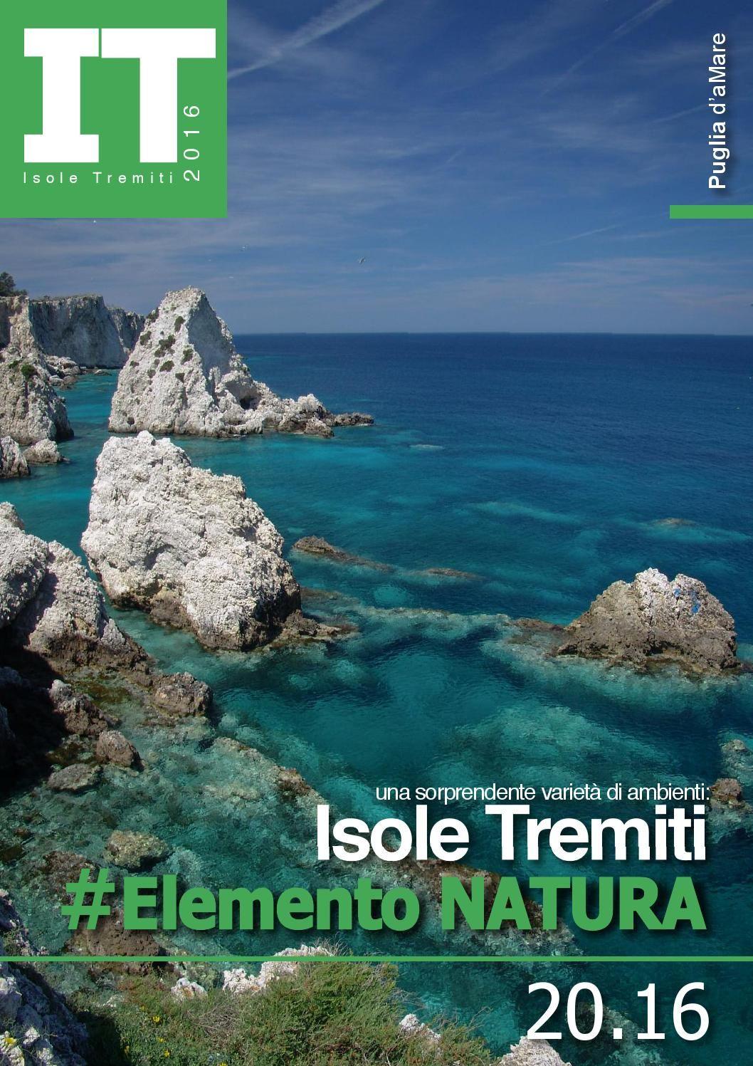 Isole Tremiti  Elemento Natura 2016