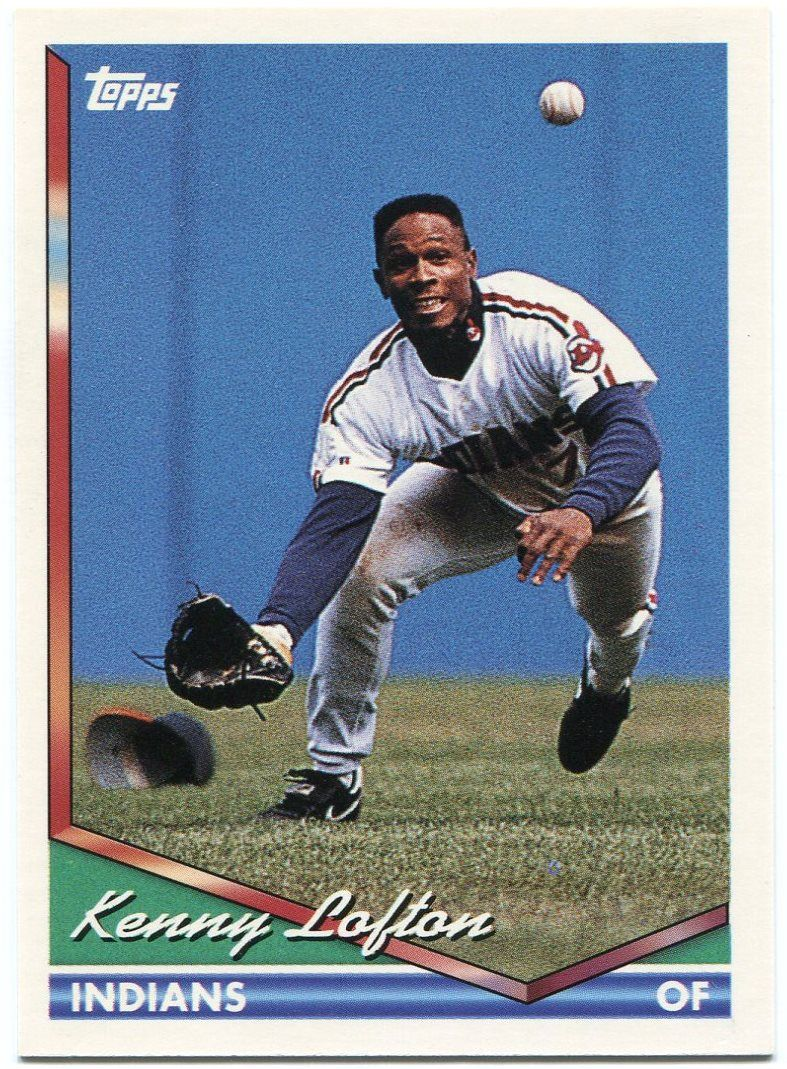 Kenny Lofton Cleats And Gloves Dime Boxes The Low End Baseball Card Collector S Journey Baseball Cards Baseball Card Collectors Kenny Lofton
