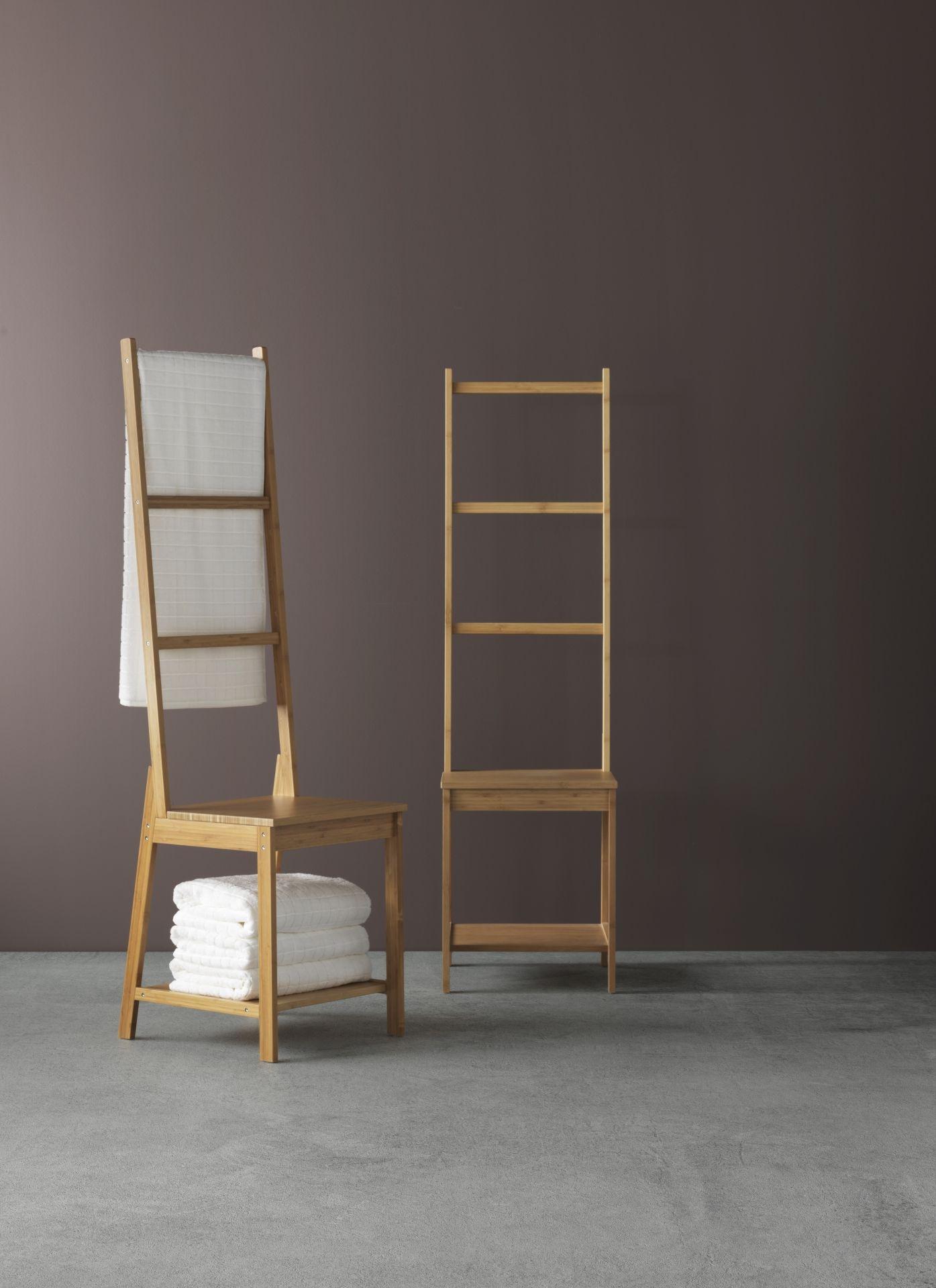 rà grund stoel met handdoekenrek bamboe bamboe badkamer en ikea