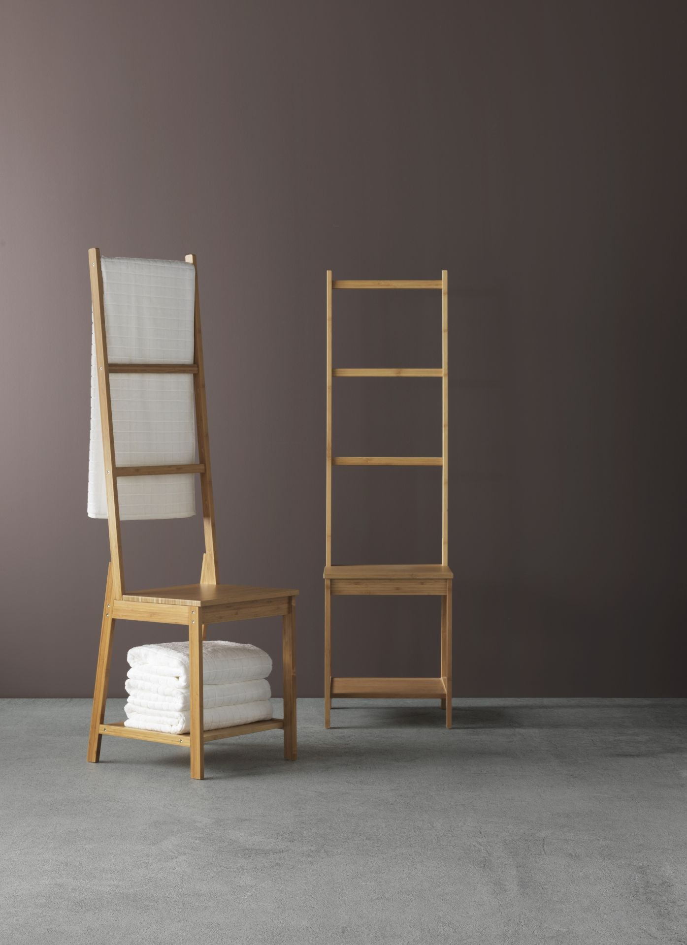 RÅGRUND Stoel met handdoekenrek, bamboe | IKEA ideeën | Pinterest ...