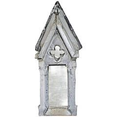 Early 19th Century French Zinc Dormer Window with Mirror