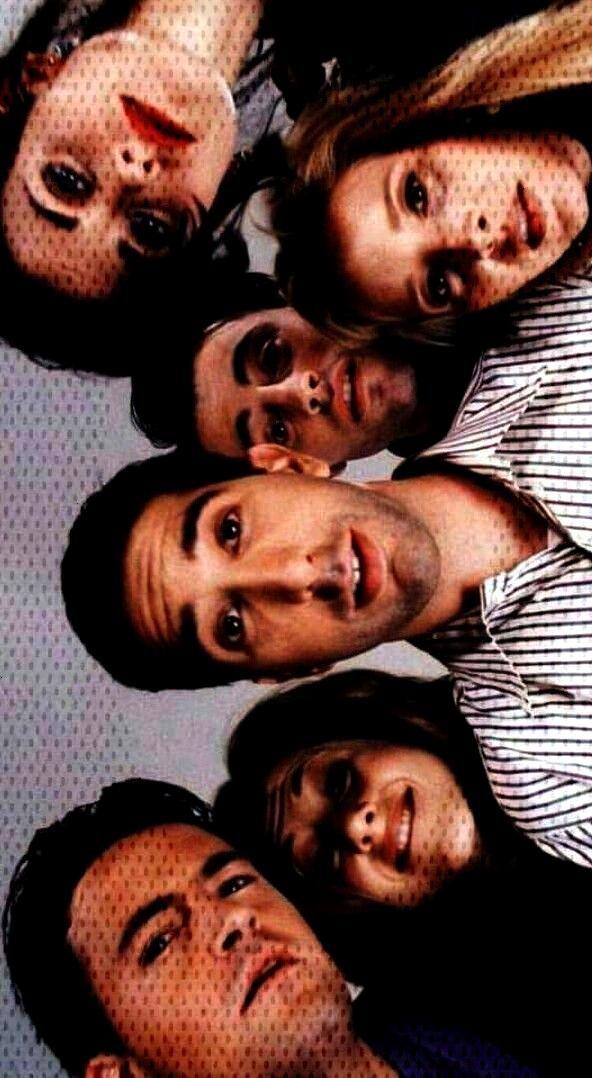 Hintergrundbild Chandler, Rachel, Ross, Joey, Monica und Pheobe. Der Tag, an dem Ben ... - iPhone H