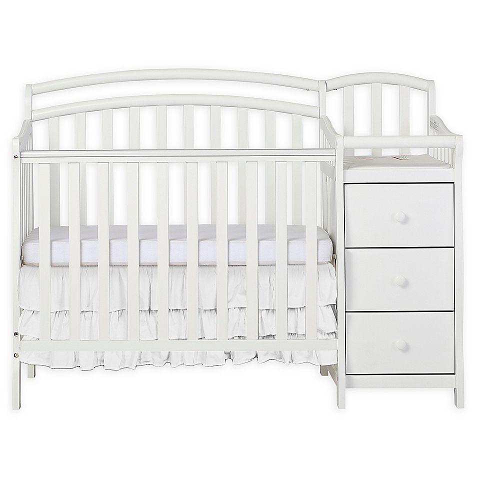 Dream On Me Casco 4 In 1 Mini Crib And Changer In Mini Crib Cribs