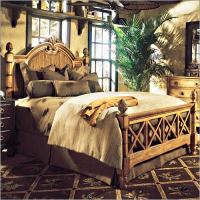 Tommy Bahama Style Bedroom Furniture Tropical Exotic Dining