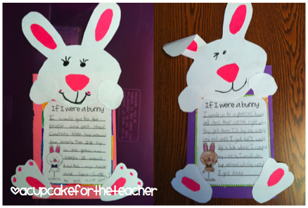 If I were a bunny.. cute activity for spring/easter!