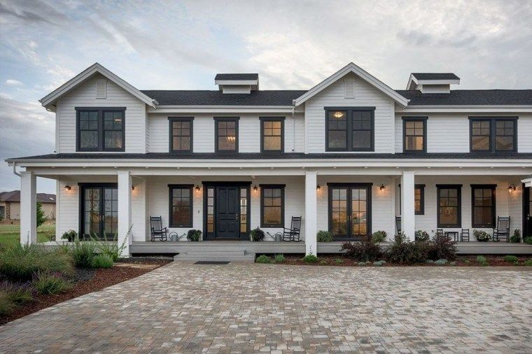 48 Incredibly Modern Farmhouse Home Exterior Design Ideas #modernfarmhouselivingroom