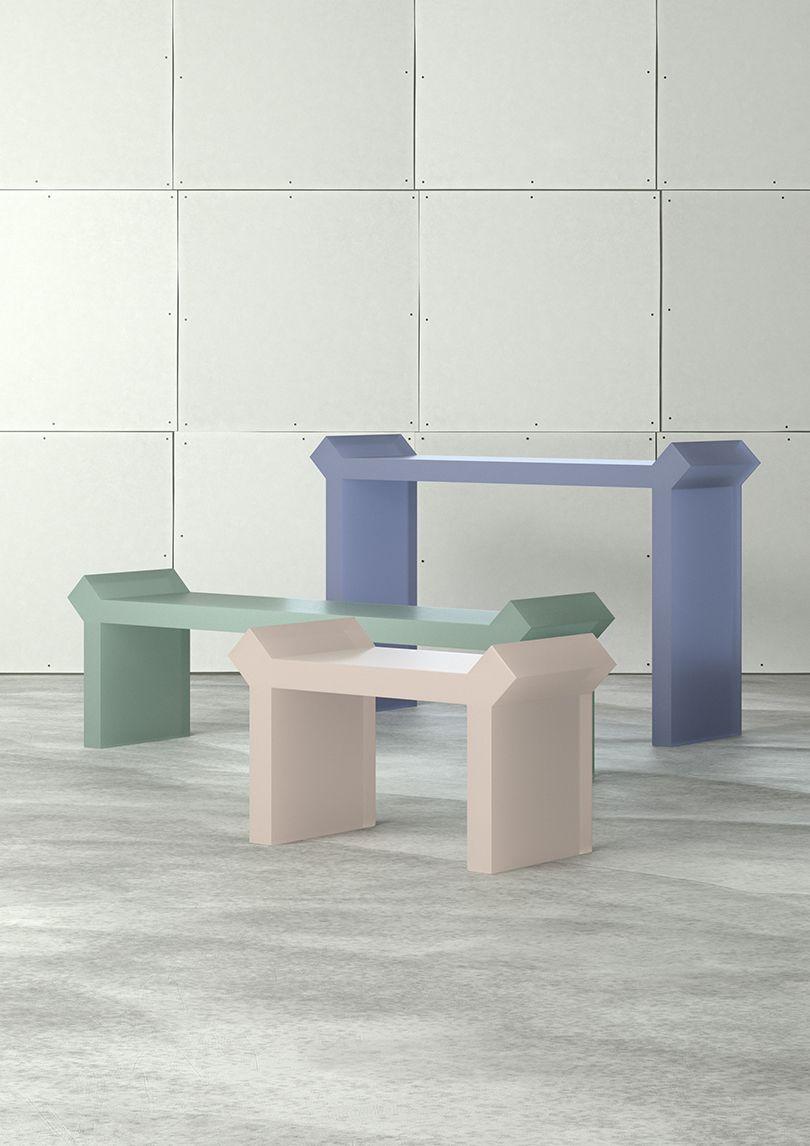 Theoreme Editions Make Its Debut In Paris Mobilier De Salon Design Design Contemporain