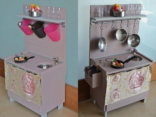 Cocinitas de juguete en madera para niños | Cocinas, Cocinas de ...