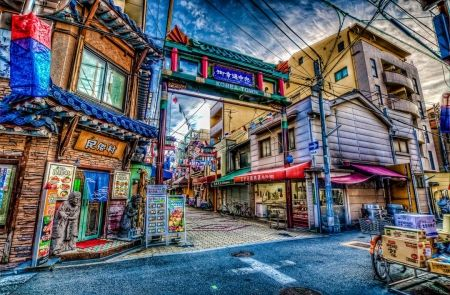Korea Town Los Angeles Hdr S Wallpapers And Images Los Angeles Towns Los Angeles California