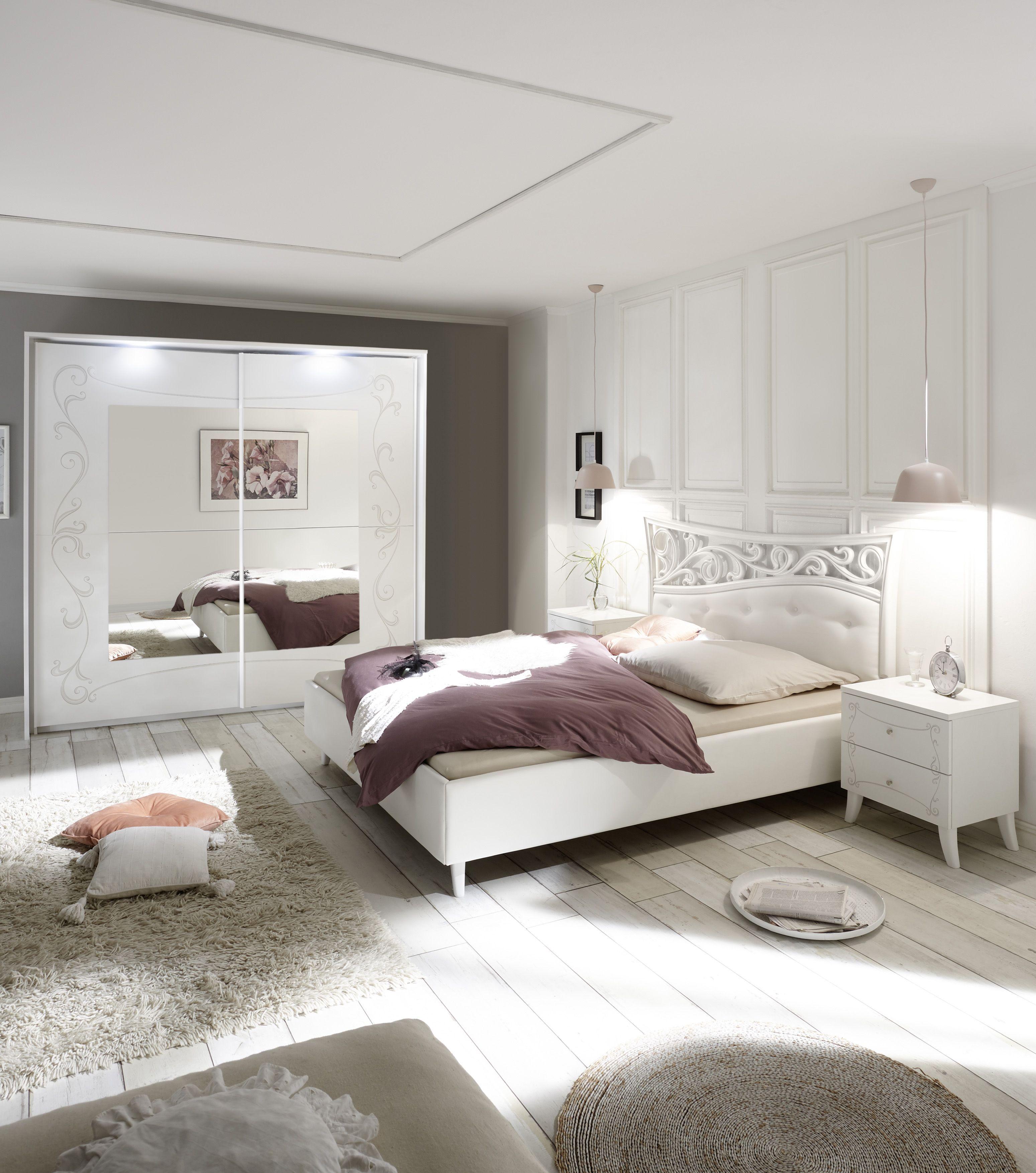 Emejing Schlafzimmer Ideen Weis Modern Photos - Farbideen fürs ...