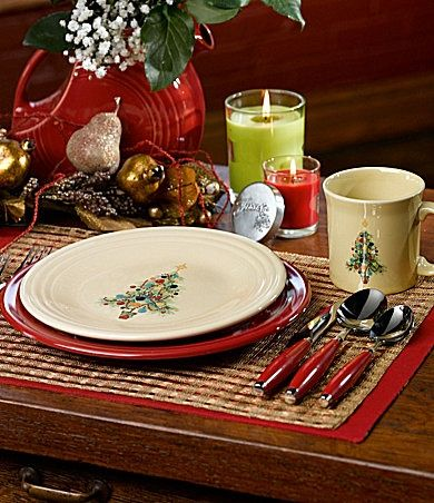 Fiesta \ Christmas Tree\  Accent Dinnerware   Dillards.com & Fiesta \