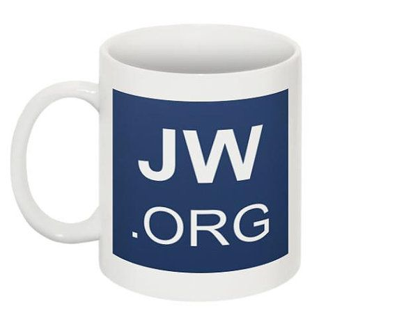 Custom Jw.Org Coffee Mug Tea Cup Ministry Supplies For Jehovah'S