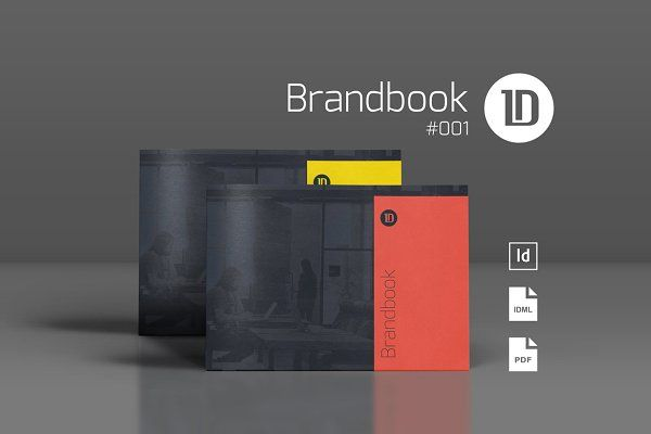 Brandbook Guidelines Template  By Id Vision Studio On