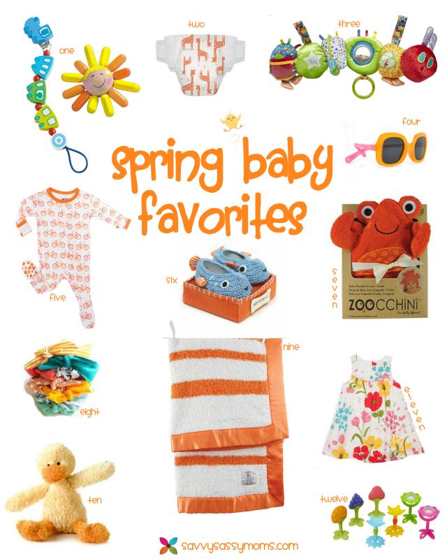 12 Spring baby favorites to love - Savvy Sassy Moms