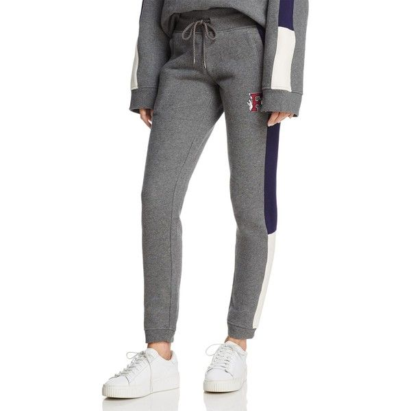 37113b13cdc Fenty Puma x Rihanna Fitted Panel Sweatpants (400 BRL) ❤ liked on Polyvore  featuring activewear