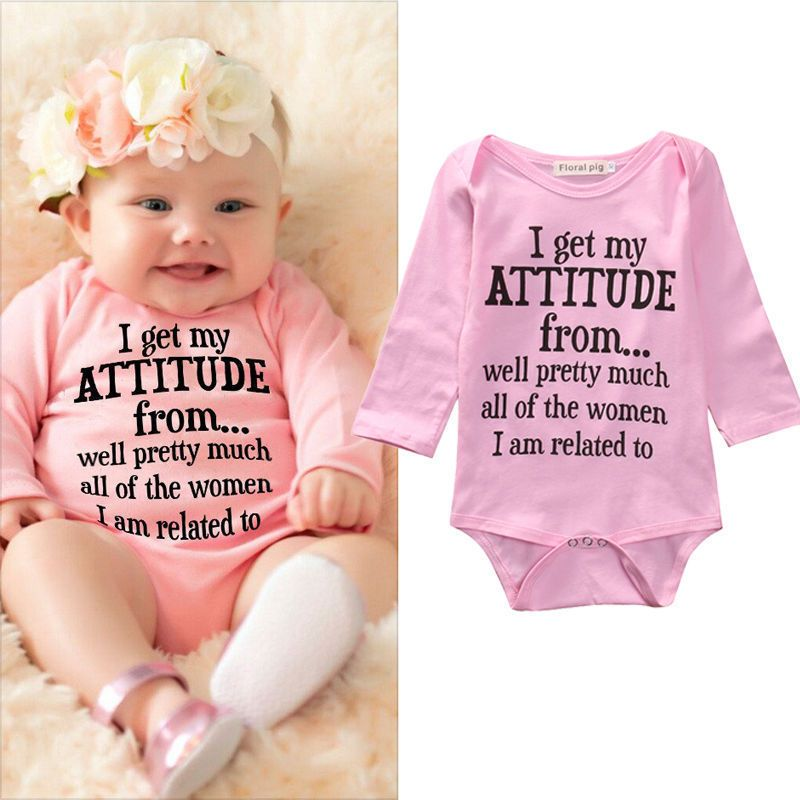 64ddaf8d9059 USA Cotton Newborn Infant Baby Girls Bodysuit Romper Jumpsuit ...