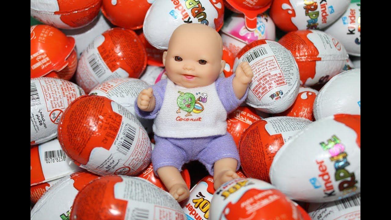 क डर आश चर य बच च क ख ल न 6 بيضات كندر جوي و كندر سبرايز و لول سبرايز واحدة فقط العاب بنات و أول Kids Toys Toys Kids