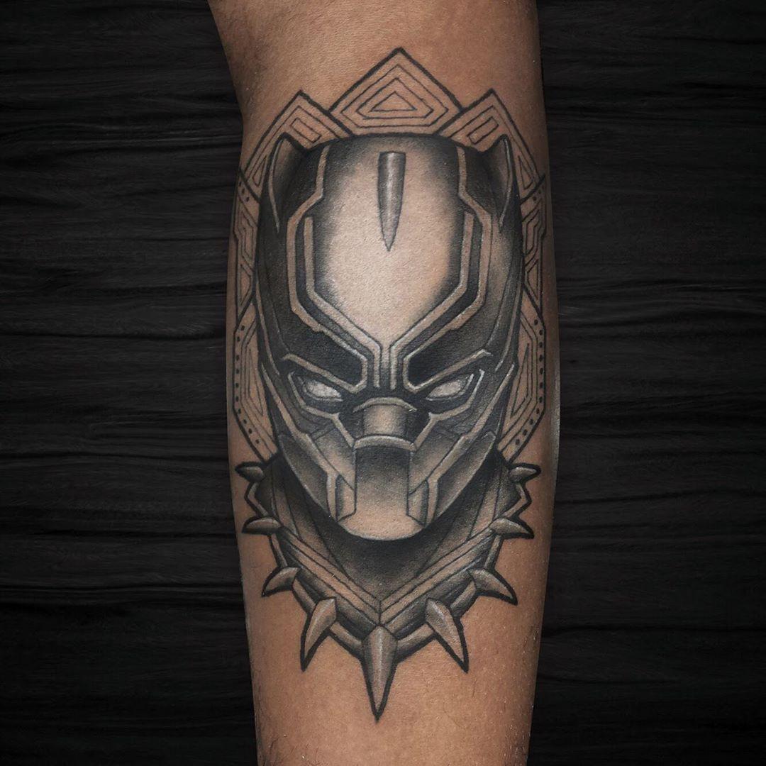 19 Proud Black Panther Tattoos Black Panther Tattoo Disney