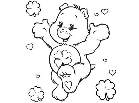 pindebra norwood on care bears coloring pages | bear coloring pages, coloring pages, disney