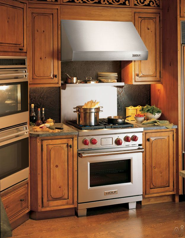 Wolf Df304x 30 Pro Style Dual Fuel Range With 4 Stacked Sealed Burners 5 Cu Ft Convection Oven Self Clean 10 Cooking Modes