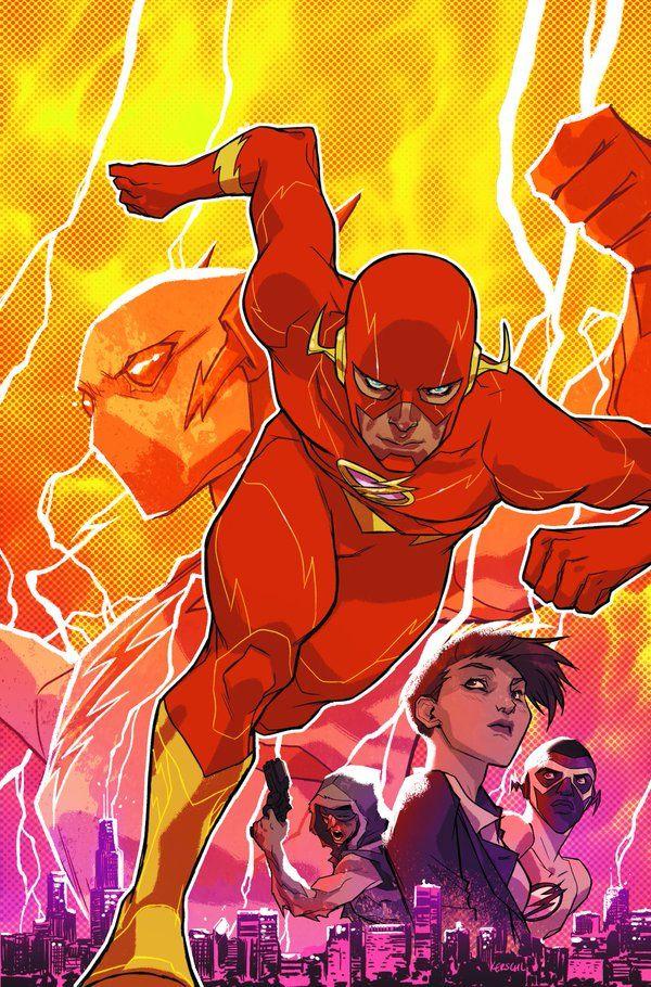 The Flash: Rebirth #1 by Carmine Di Giandomenico