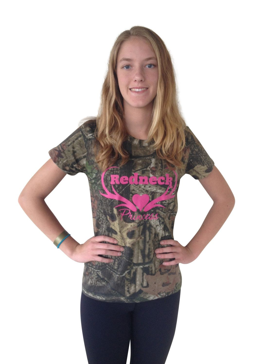44239427e Redneck Princess Mossy Oak Tshirt Womens Juniors Ladies Russell Outdoors  Break Up Infinity Camo Cotton Explorer Graphic T-Shirt Top Tee NWT by ...