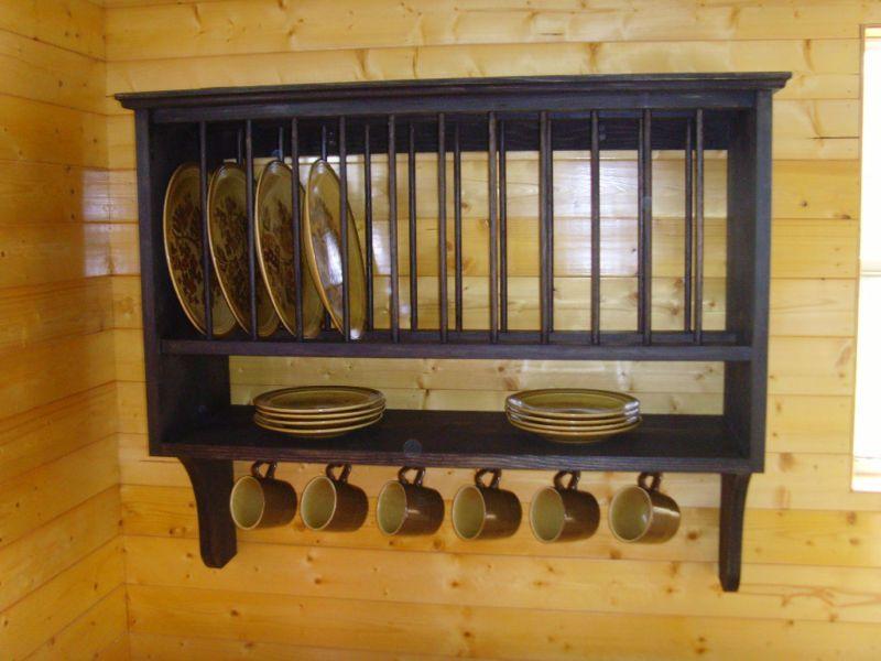 Handmade Rustic 12 Slot Plate Rack Choice of Stain ** & Handmade Rustic 12 Slot Plate Rack Choice of Stain | Plate racks ...