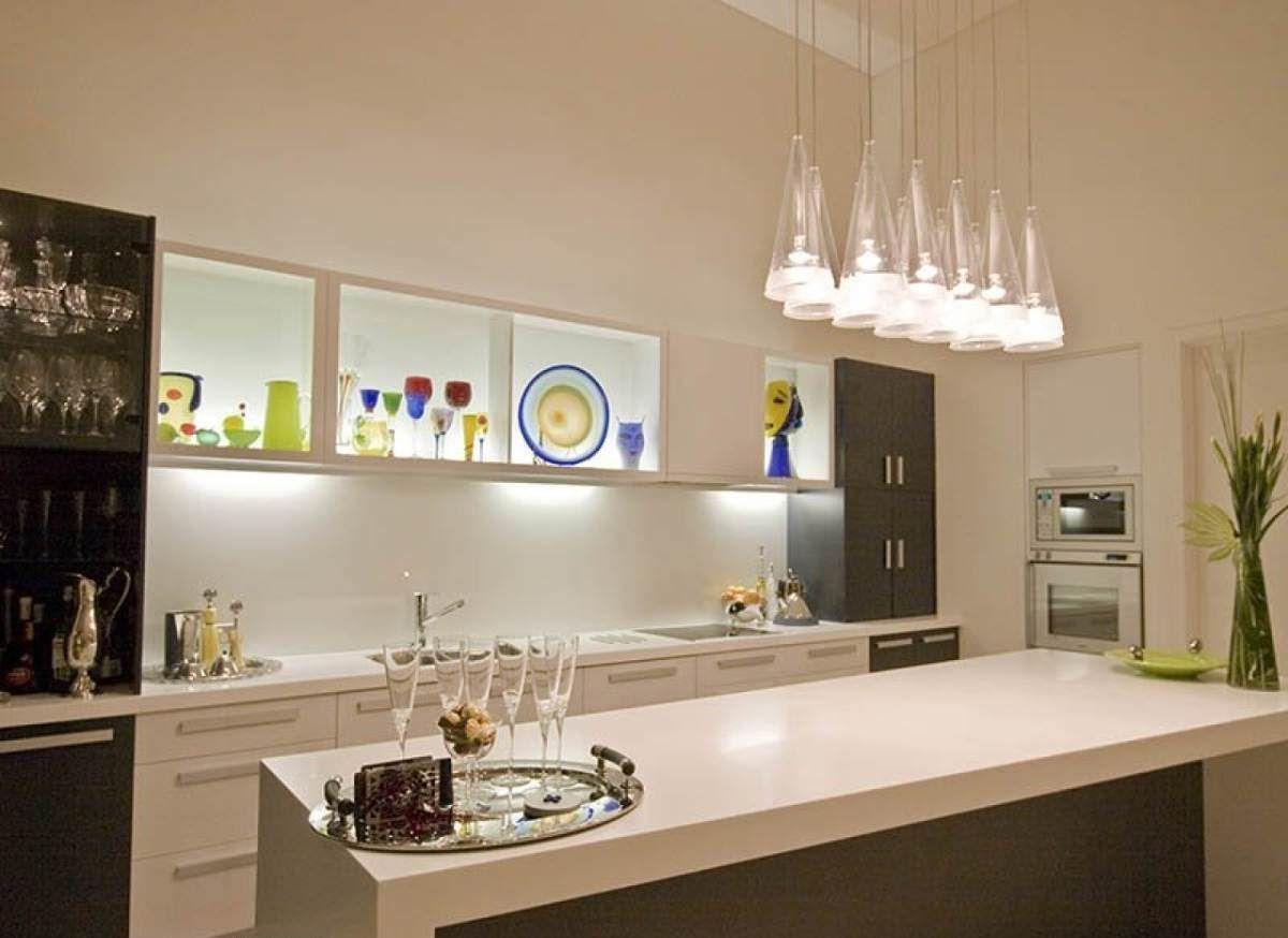 modern kitchen island lighting ideas   Modern kitchen lighting ...